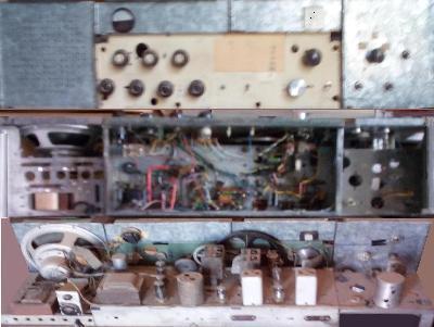 Receptor de comunicaciones de radioaficionado.