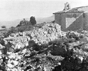 La ermita de San Bartolomé.