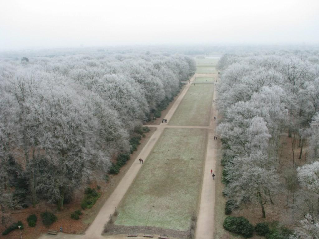 winterlicher Stadtpark