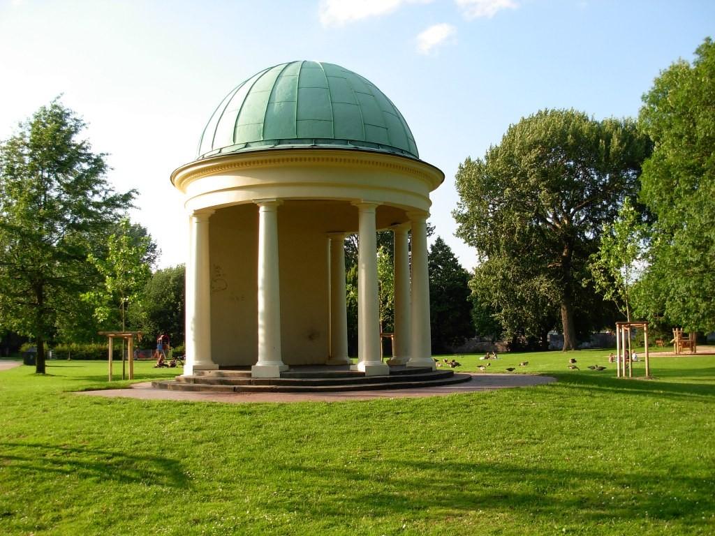 Hayns Park in Eppendorf