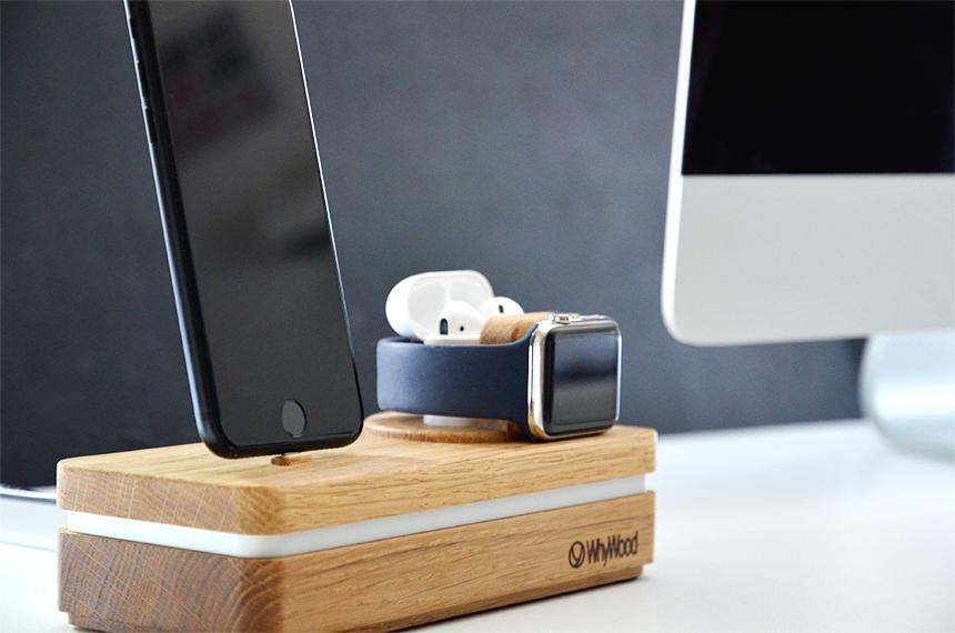 Dockit 2L 1AW - Für iPhone 5 bis Xs, alle Apple Watch Modelle, AirPods und mehr