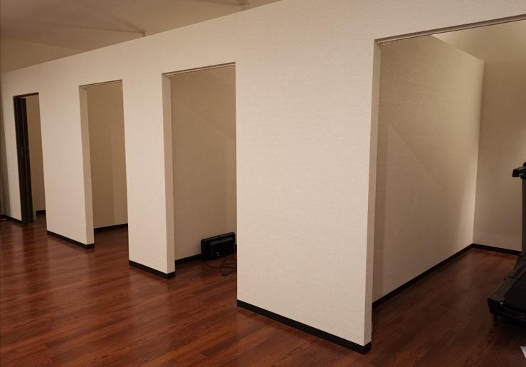 フィットネスクラブ 個室