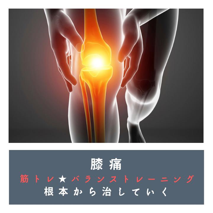 堺パーソナルトレーニング 膝痛 治す