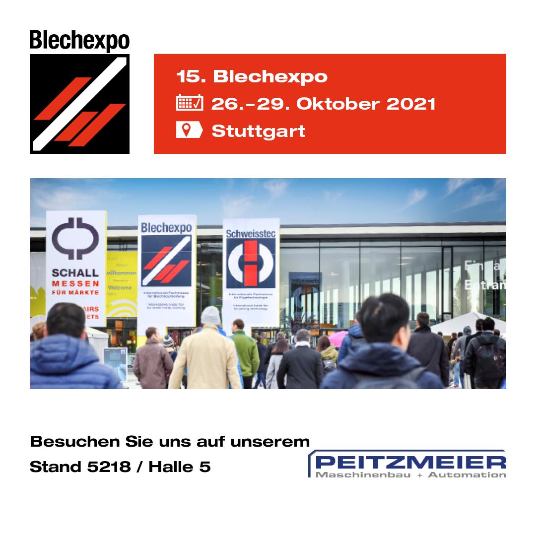Blechexpo 26.-29. Oktober 2021