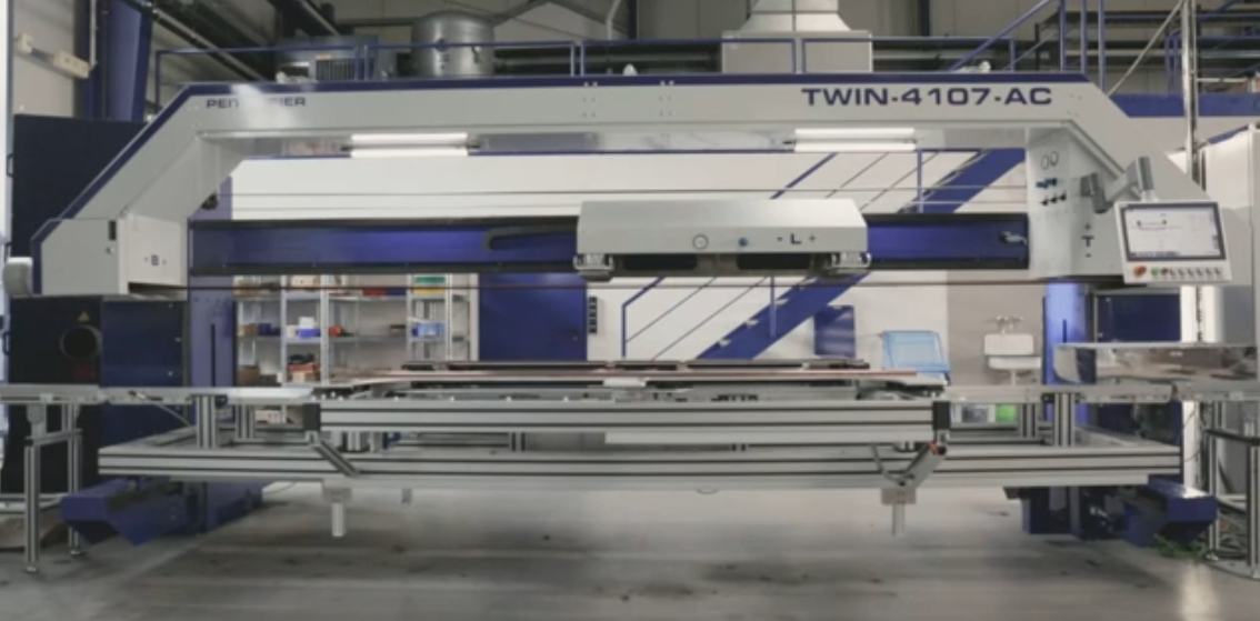 Video Teilefahrt - Durchlaufanlage TWIN-4107-AC