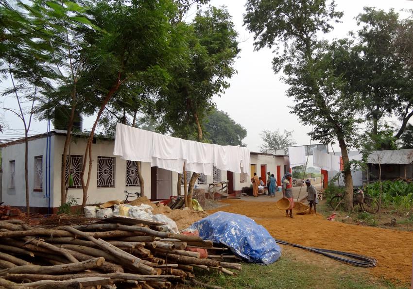 Unterkunft für Ashram-Angestellte.