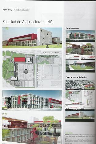 Nueva Facultad de Arquitectura-Cordoba