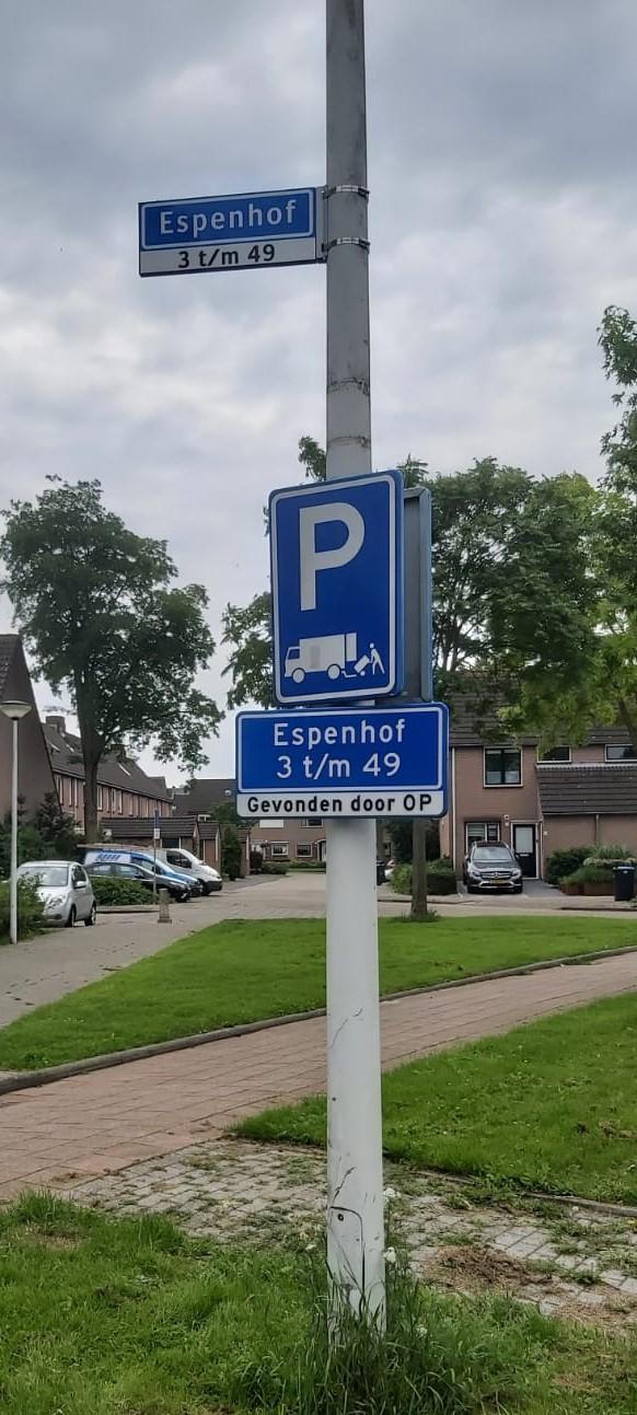 Espenhof 3 t/m 49 - Gevonden door OP