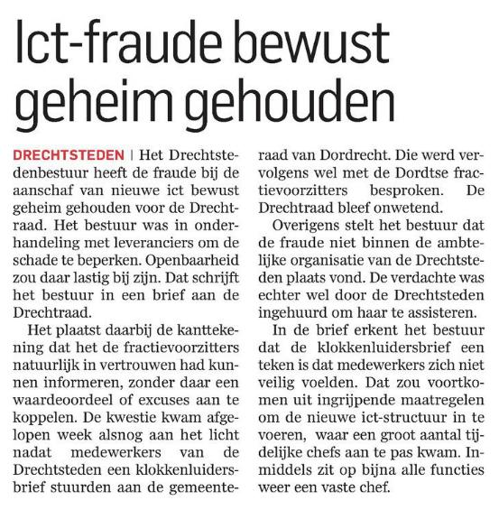 ict-fraude geheim gehouden
