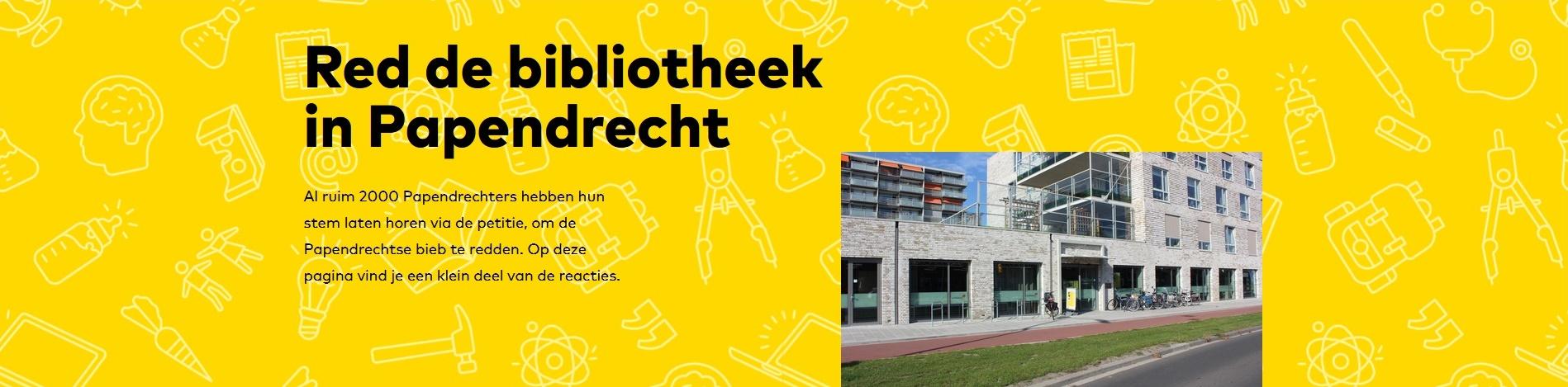 Red de bibliotheek in Papendrecht