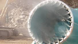 Afbeelding van een vernevelingskanon