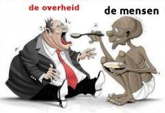 overheid eet mensen