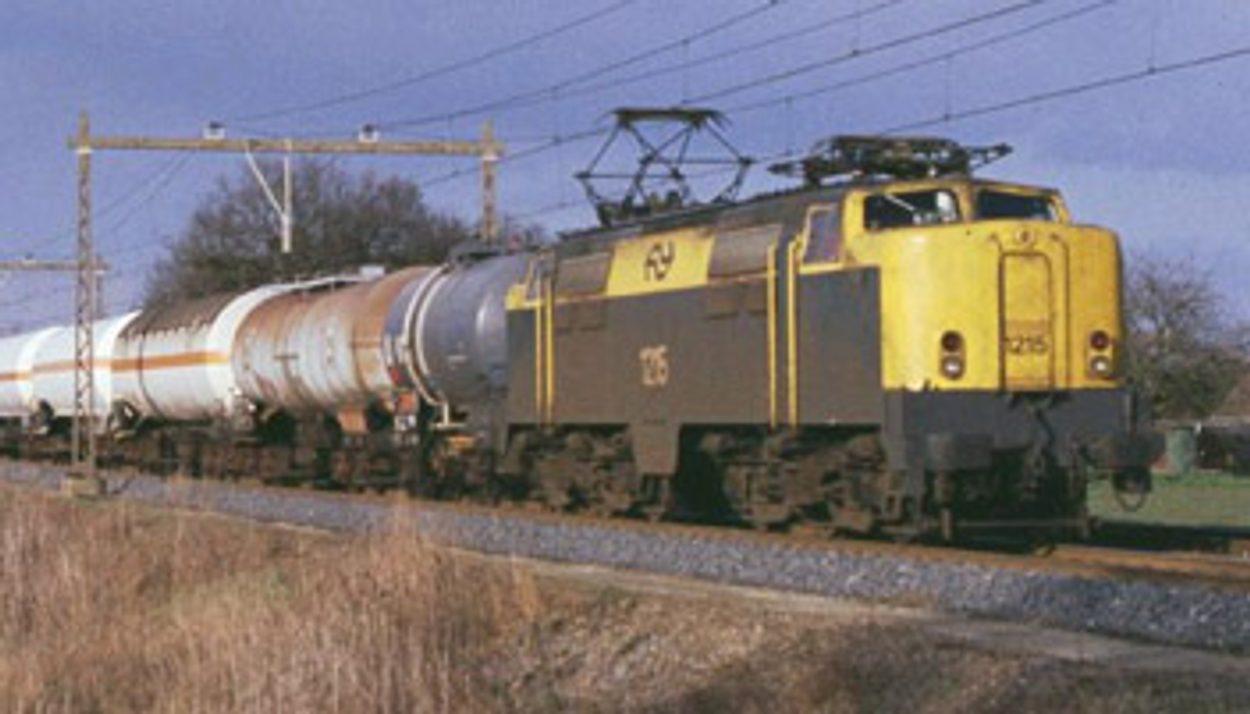 Grote chloortransporten over de Betuwelijn vinden plaats in de maand april 2021