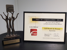 LR France reçoit le Prix de l'Excellence 2017 de la part de la Fédération de la Vente Directe - MLM ou MDR,