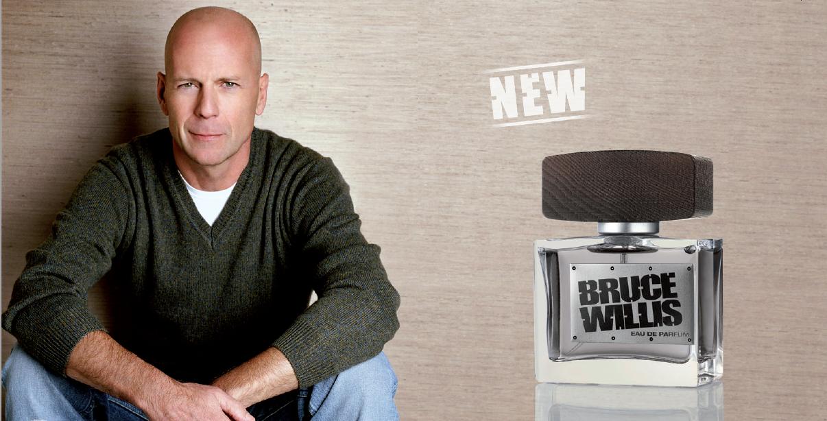 Un des parfums LR de Bruce Willis depuis 2010