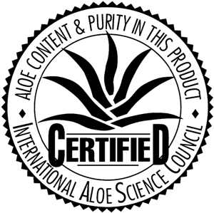 Demandez le label de qualité IASC pour vos gels d'aloe vera