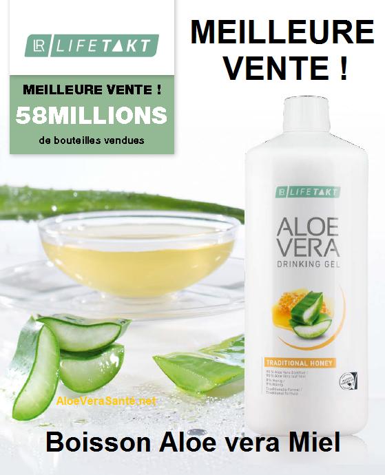 L'Aloe vera Barbadensis Miller la boisson vitalité