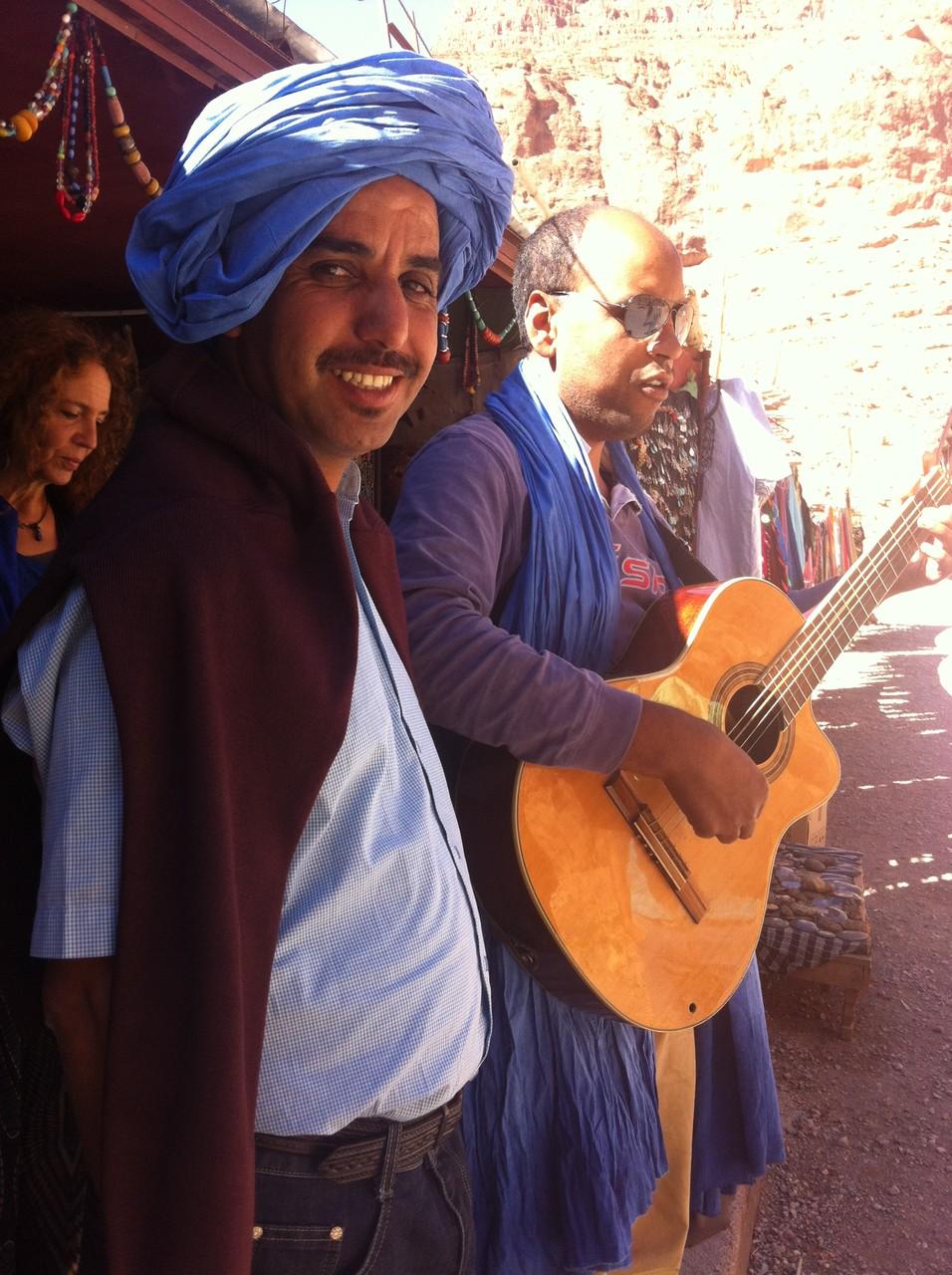 Hamid et Hassan chanteurs