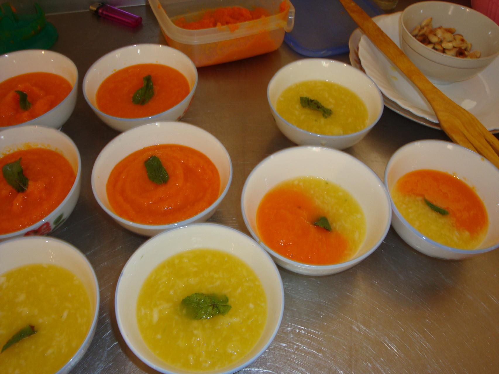 Soupe fraiche Orange Carottes