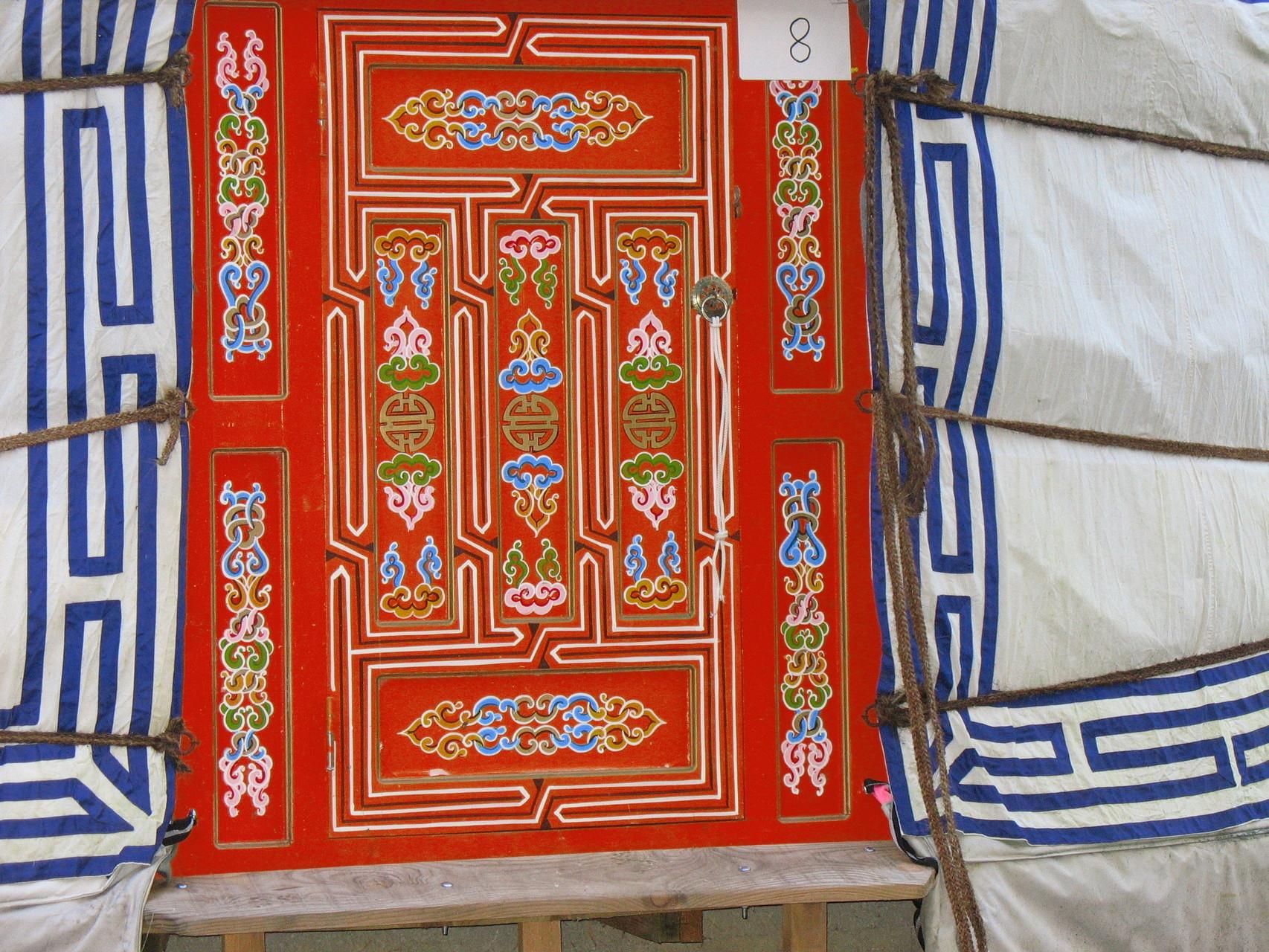 Des airs de Mongolie pour notre hébergement
