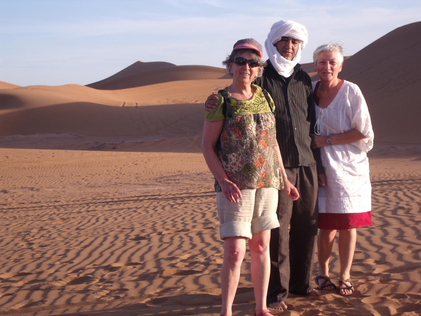 avec Hassan dans le désert