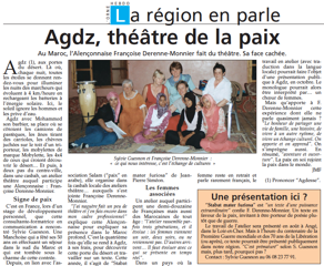 Avec Jeunes filles et Femmes marocaines et Françaises nous commençons l'aventure