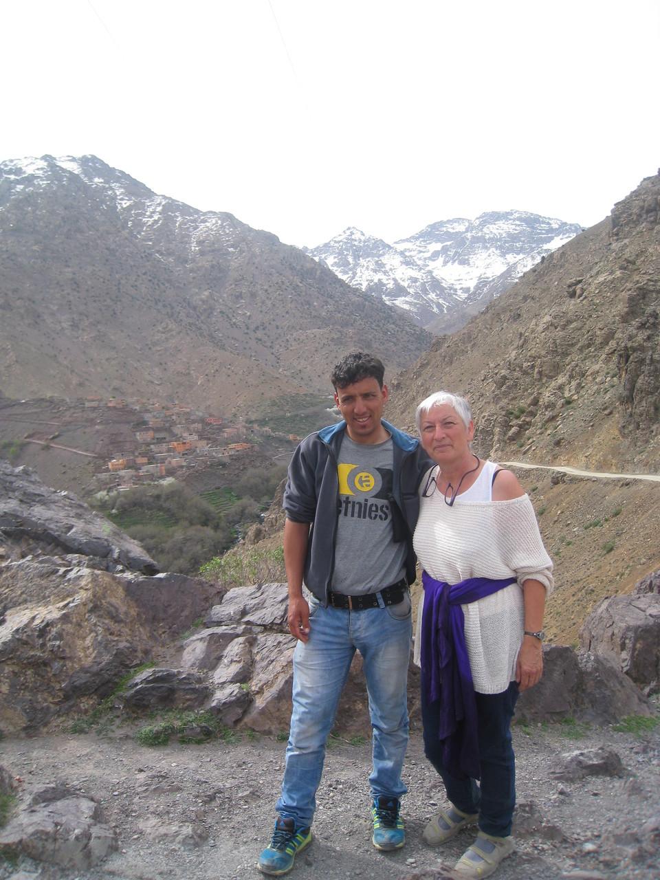 à Imlil au pied du Toubkal