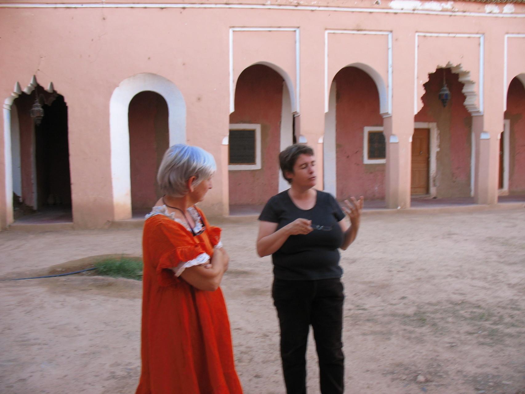 Gaelle nous fait visiter la Casbah