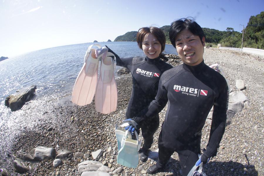 牛深 砂月海岸 施設が近くにあるポイントと、施設が無いけどサンゴや熱帯魚がたくさん見られるポイントがある。