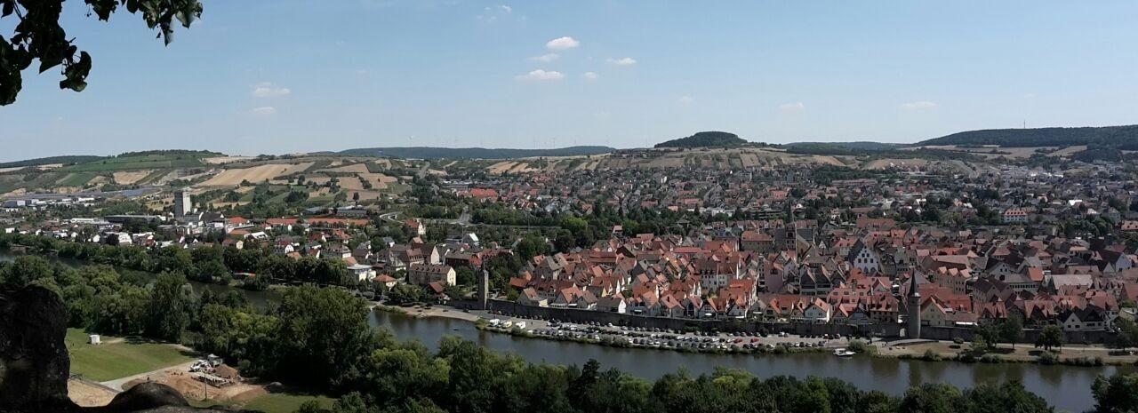 Panorama Karlstadt