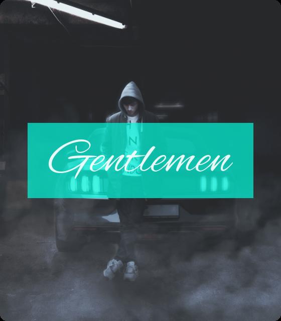Kleidung für Gentlemen (T-shirts, Tanktops, Hoodys, Jacken)
