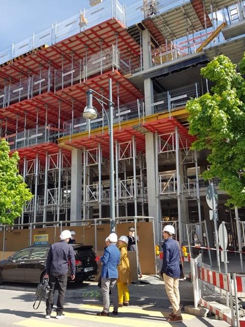 Ortstermin mit Senatsbaudirektorin Regula Lüscher, dgk architekten, Vahid Naseri, Berlinexanderplatz, S Bahnbögen