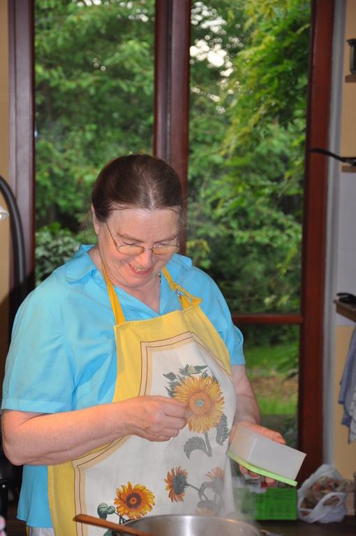 Kochkurs bei Maxi/cooking class