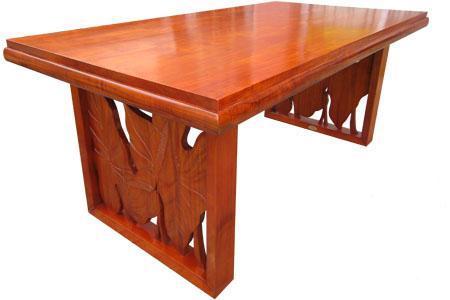 マホガニーロイヤルダイニングテーブル