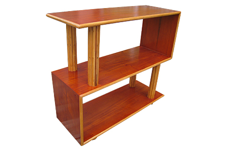 Rattan Modern style shelf