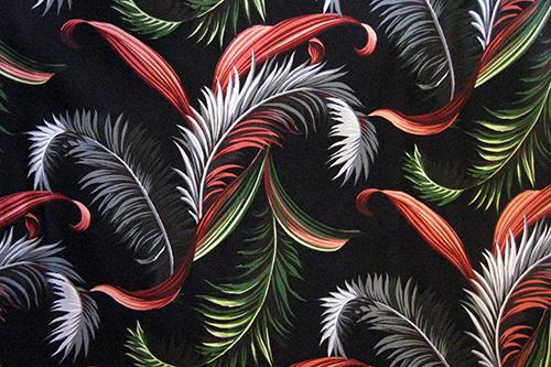Palm Leaf Black <3人掛け不可>