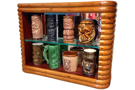 Rattan Shadow Box ミラーバック