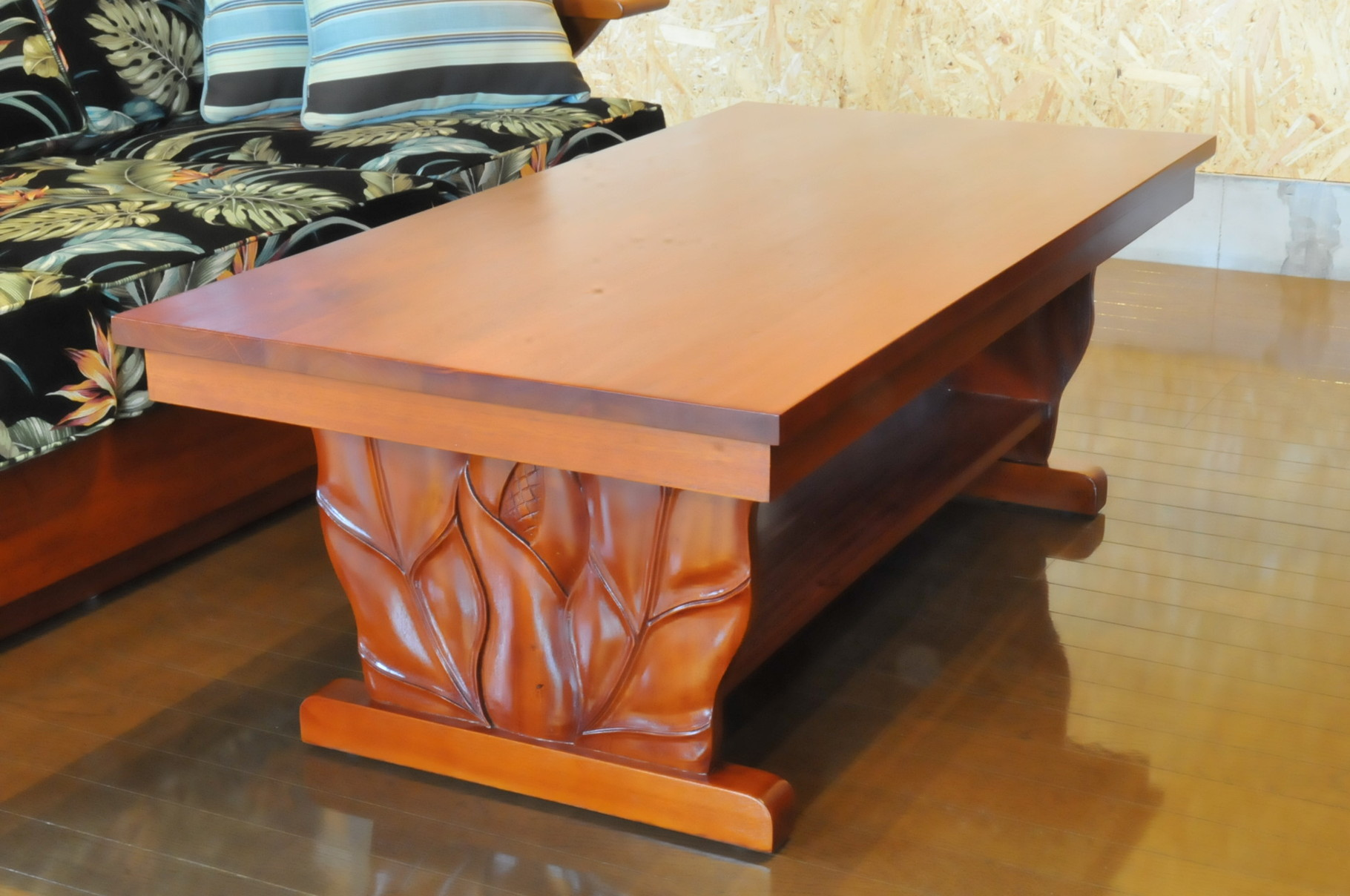 Mahogany Royal Carving Coffee Table B