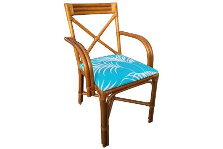 Ratan X - Crossing armchair (L)