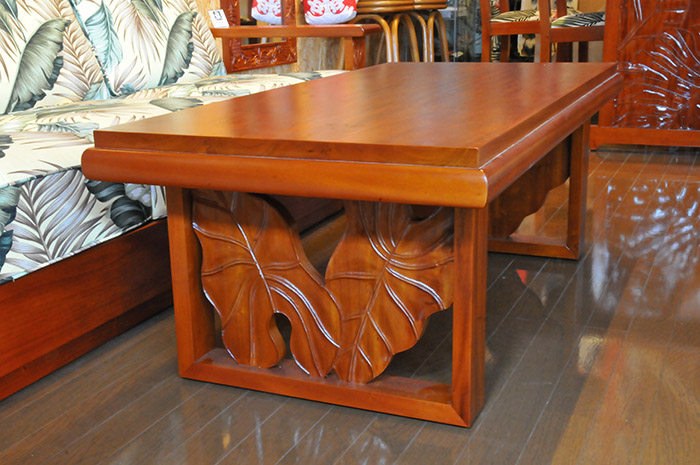 Mahogany Royal Carving Coffee Table A