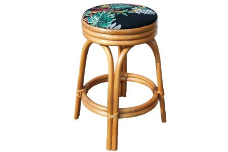 Ratan counter stool