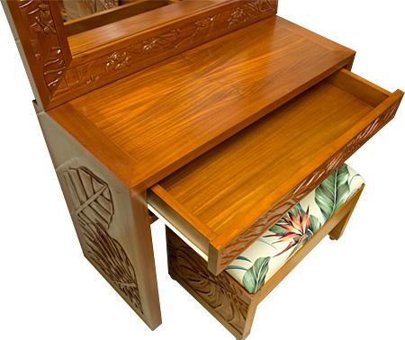 Mahogany carving dresser