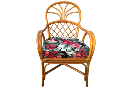 Rattan Pineapple Lounge Armchair