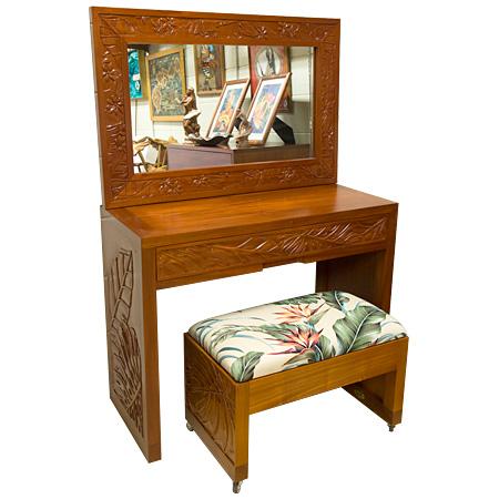 Mahogany carving dresser組み合わせ例