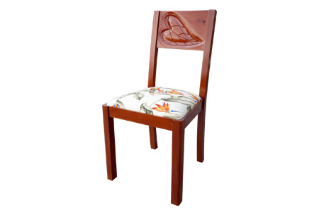 Mahogany Carving Dining Chair (Aperturef)