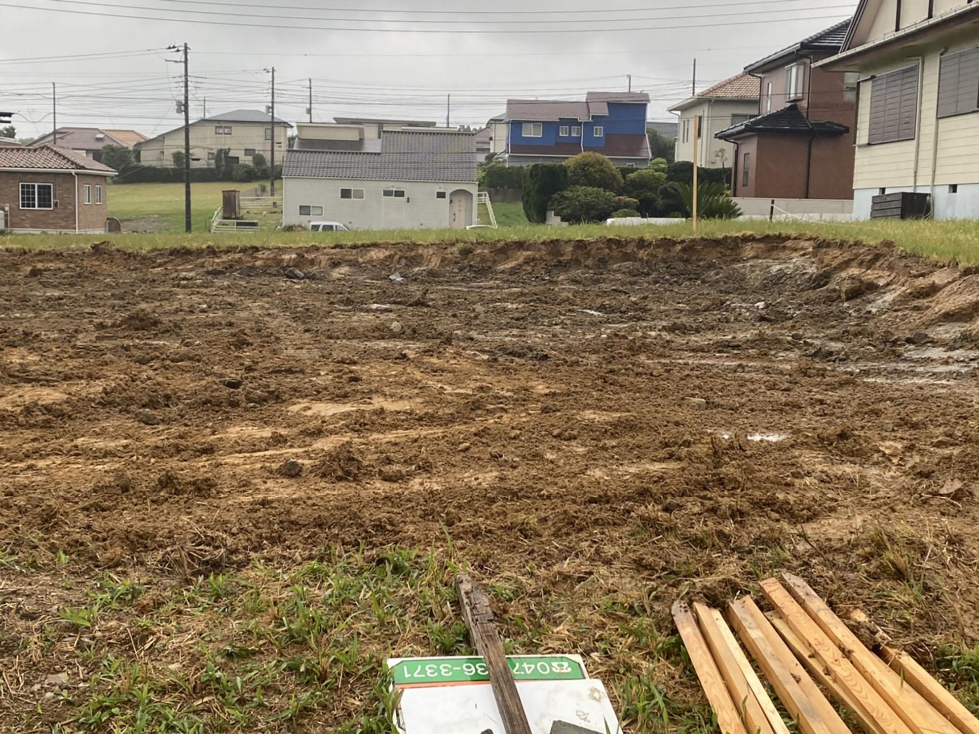 根切掘削整地