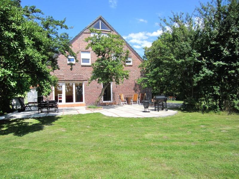 Garten und Terrasse, Ziegelhaus, Südseite
