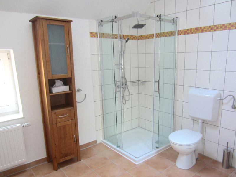 Badezimmer, Weißes Scheunenhaus, Erdgeschoss