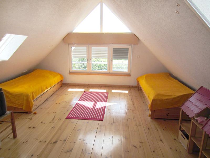 Schlafzimmer, Ziegelhaus, Dachgeschoss