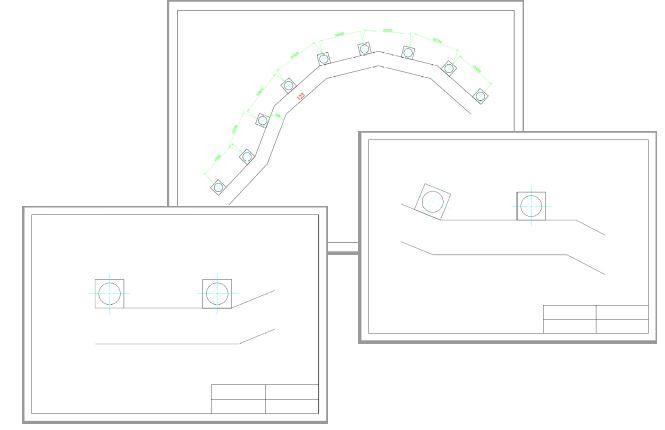 CADCIL AutoCAD入門・基礎パック 個別講座 レイアウトを使った図面領域の分割